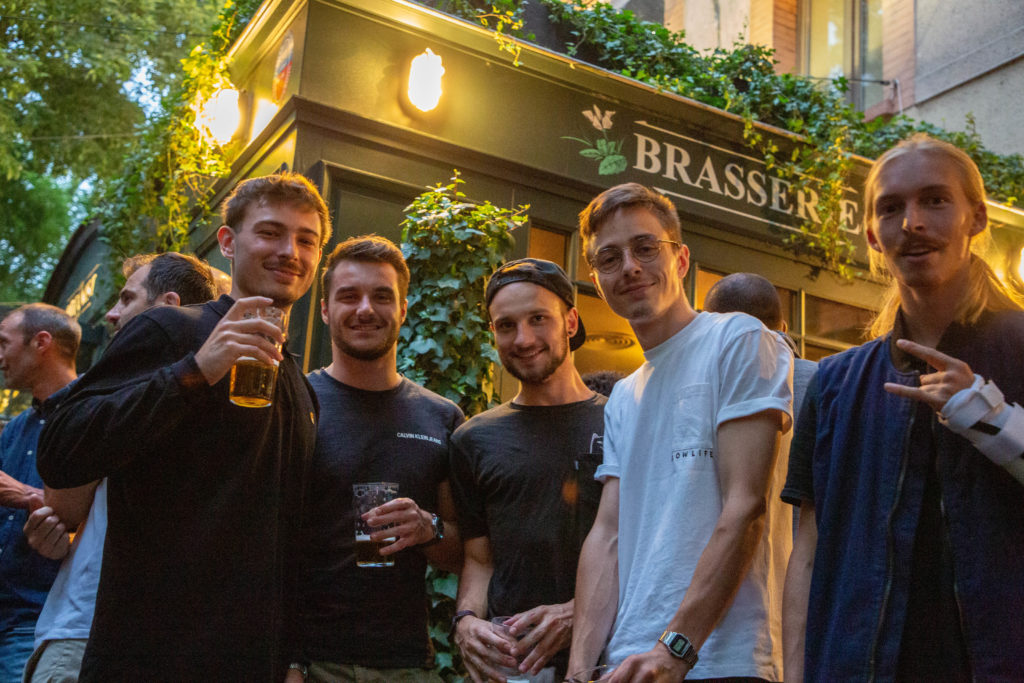 the botanist pub bar soiree ouverture opening toulouse amis collegues
