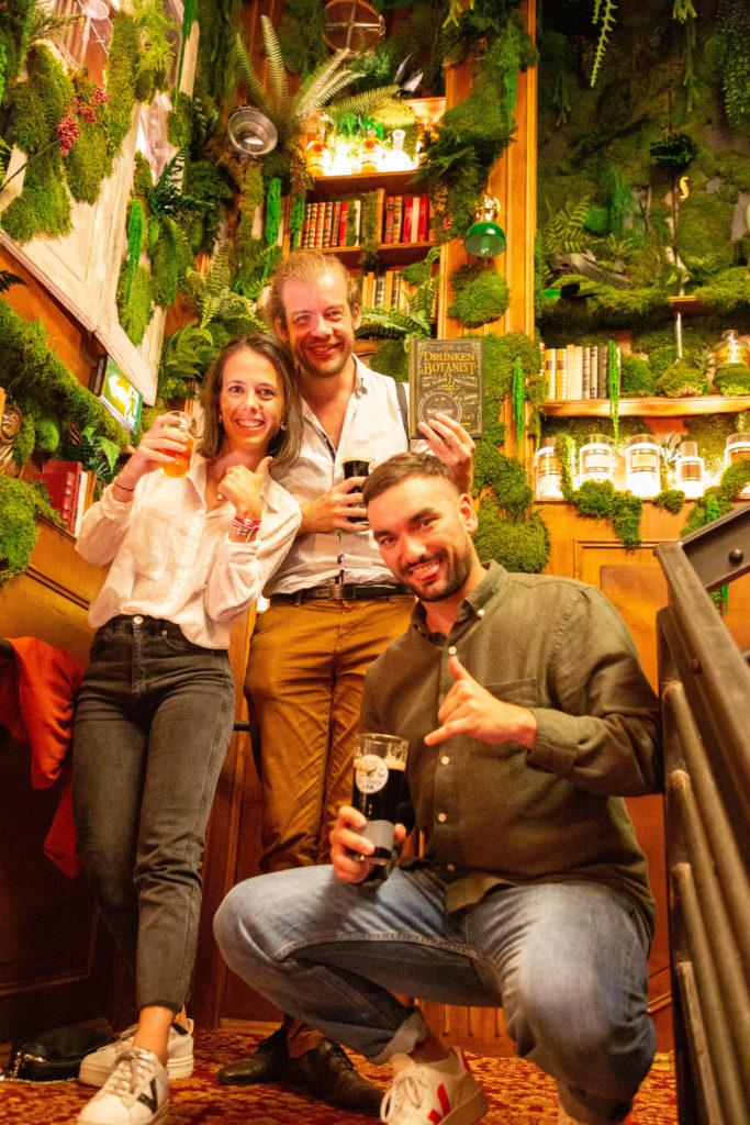 the botanist pub bar soiree ouverture opening toulouse famille partage