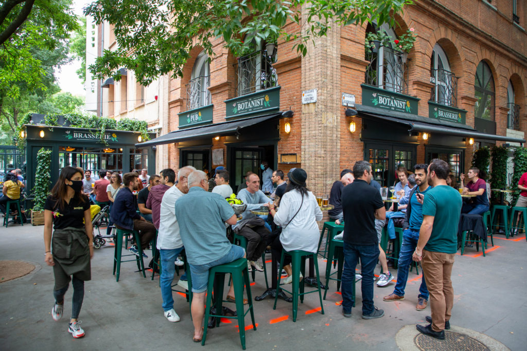 the botanist pub bar soiree ouverture opening toulouse terrasse